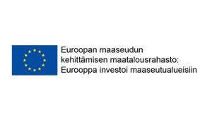Euroopan maaseudun kehittämisen maatalousrahaston logo.
